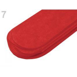Papierový pompom Ø35 cm červená rumelka 60ks Stoklasa