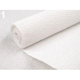 Krepový papier 0,5x2,5 m biela 4ks Stoklasa