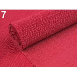 Krepový papier 0,5x2,5 m červená  4ks Stoklasa