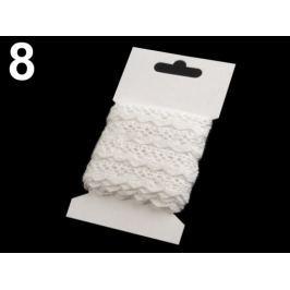 Čipka bavlnená šírka 15 mm paličkovaná 3 m Off White 24kar. Stoklasa