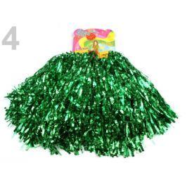 Pompon pre roztlieskavačky 2 ks zelená pastelová 1pár Stoklasa