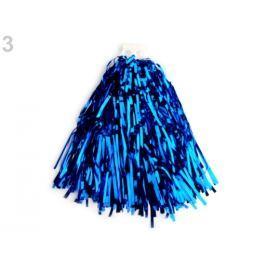 Pompon pre roztlieskavačky hladký modrá kobaltová 1ks Stoklasa