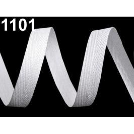 Keprovka - tkaloun šírka 12 mm biela 50m
