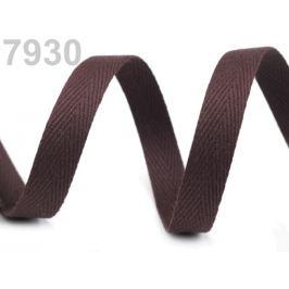 Keprovka - tkaloun šírka 12 mm hnedá 50m