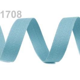Keprovka - tkaloun  šírka 14 mm tyrkys 50m