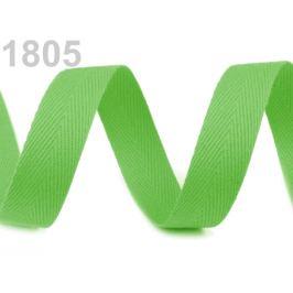 Keprovka - tkaloun šírka 16 mm zelená trávová 50m