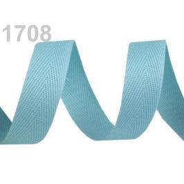 Keprovka - tkaloun šírka 16 mm tyrkys 50m