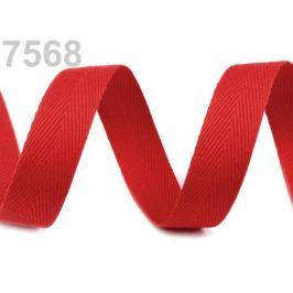 Keprovka - tkaloun šírka 18 mm červená 50m