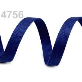 Keprovka - tkaloun  šírka 10 mm modrá berlínska 50m