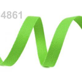 Keprovka - tkaloun  šírka 10 mm zelená sv. 50m