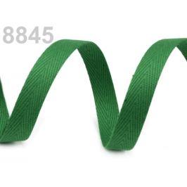 Keprovka - tkaloun  šírka 10 mm zelená pastelová 50m