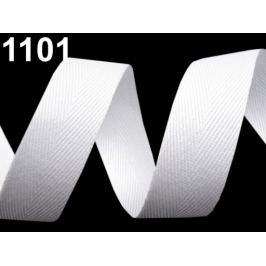 Keprovka - tkaloun šírka 20 mm biela 50m