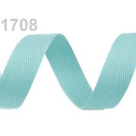 Keprovka - tkaloun šírka 20 mm tyrkys 50m