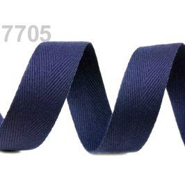 Keprovka - tkaloun  šírka 30 mm modrá parížska 50m
