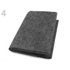 Novopast 20-80g/m šírka 0,9x1 m netkaná nažehlovacia textília šedá 1ks