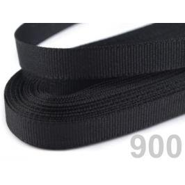 Stuha taftová šírka 6mm čierna 10m