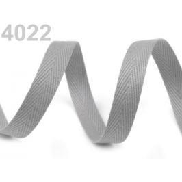 Keprovka - tkaloun šírka 8 mm šedá 50m