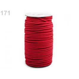 Guma guľatá Ø3mm MAGGIE červená  50m