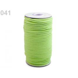 Guma guľatá Ø3mm MAGGIE zelená sv. 50m