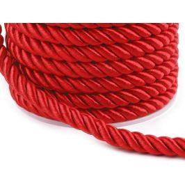 Šnúra krútená  Ø7 mm červená 20m Stoklasa