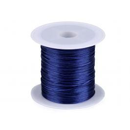 Guma / gumička plochá farebná šírka1 mm modrá berlínska 2ks Stoklasa