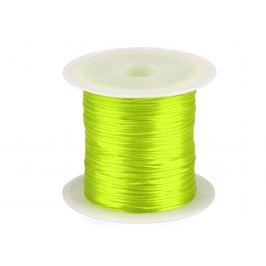 Guma / gumička plochá farebná šírka1 mm žltozelená ref. 2ks Stoklasa