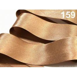 Šikmý prúžok saténový 20mm zažehlený rozmeraný Golden Oak 20m