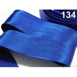 Šikmý prúžok saténový 20mm zažehlený rozmeraný Olympian Blue 20m