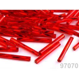 Rokajl Preciosa 20mm krútené tyčky červená 20g