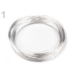 Drôt Ø0,18 mm strieborná sv. 1ks