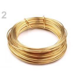 Drôt Ø1 mm zlatá 1ks