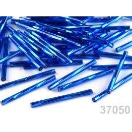 Rokajl Preciosa točené tyčky  30 mm modrá královská 20g