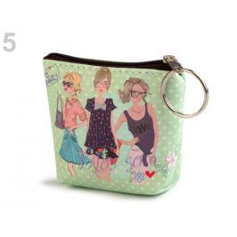 Peňaženka / puzdro 8x10 cm zelená lipová 1ks Stoklasa
