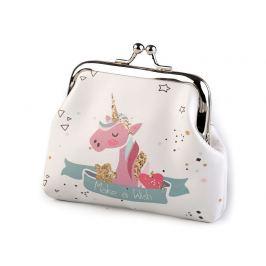 Peňaženka jednorožec, lapač snov, mačka, foťák 8x10 cm biela 1ks Stoklasa