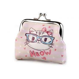 Peňaženka jednorožec, lapač snov, mačka, foťák 8x10 cm ružová najsv. 1ks Stoklasa