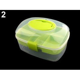 Plastový box / kufrík zelená sv. 1ks Stoklasa