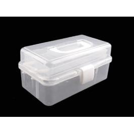 Plastový box / kufrík rozkladací Transparent 1ks Stoklasa