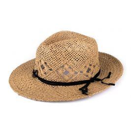 Letný klobúk hnedá sv. 1ks Stoklasa