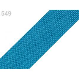 Popruh polypropylénový šírka 40 mm typ BX modrá tyrkys. 5m