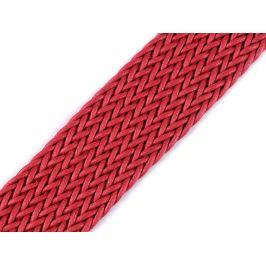 Splietaný popruh šírka 50 mm červená 1m Stoklasa