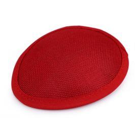 Sisalový základ / polotovar na výrobu fascinátorov červená 1ks Stoklasa