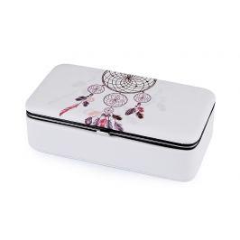 Malá šperkovnica lapač snov 5,5x9,5x18,5 cm krémová najsvetl 1ks Stoklasa