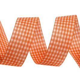 Jarná stuha šírka 25 mm na dopredaj oranžovoružová 1zväzok