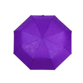 Dámsky skladací vystrelovací dáždnik s jemným vzorom modrofialová 1ks Stoklasa