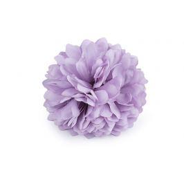 Brošňa / ozdoba kvet Ø7 cm fialová sv. 1ks Stoklasa