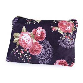 Skladacia nákupná taška so zipsom 41x46 cm fialová lilková 1ks Stoklasa