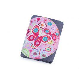 Skladacia nákupná taška mandala, motýľ 39x45 cm šedá 1ks Stoklasa