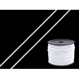 Guľatá gumička Ø1,5 mm biela 100m