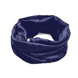 Multifunkčná šatka / rúško / nákrčník - dámsky, detský modrá tmavá 1ks