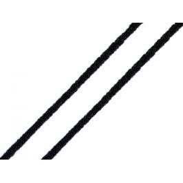 Gulatá gumička Ø2,5-3 mm mäkká čierna 30g